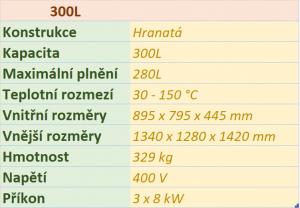 kotel Hranatý 300L