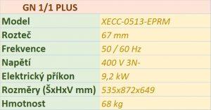 Elektrický konvektomat UNOX XECC-0513-EPRM 5 x GN 1/1 PLUS
